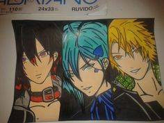 amnesia Characters  ♡