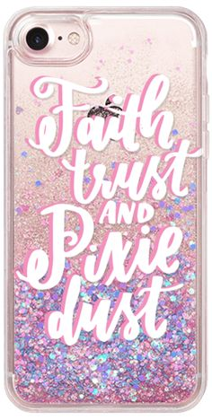 Casetify iPhone 7 Glitter Case - Faith Trust and Pixie Dust by Kiley in Kentucky #Casetify