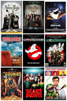 54 Not-So-Scary Movies for Halloween! | Halloween Movie List for All!