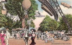 Villemard 1910 Postcards