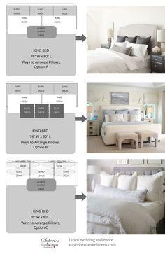 42 best bed pillow arrangement ideas