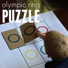 olympic ring puzzle for toddlers square