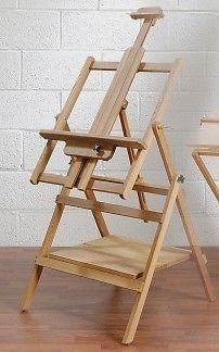Loxley Essex Studio Easel With Base Shelf
