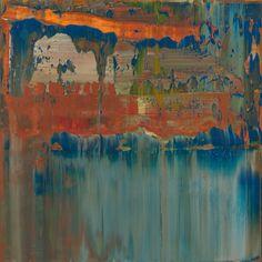 Gerhard Richter, Abstraktes Bild (Abstract Painting), 2008. Oil on canvas. 40cm H x 40cm W.