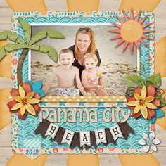 Beach page idea