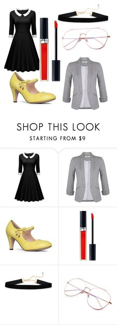 """Dressed under $100"" by poppicorn ❤ liked on Polyvore featuring Miss Selfridge, J. Adams and Christian Dior"