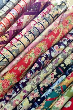 Classical Japanese fabrics