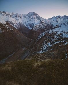 Right after sundown in the Alps. Headed back down to the car in the dark. One of the signs of a day well spent...
