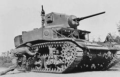 Two of these were also in my 2nd book, sent through the Bermuda Triangle portal to support the marooned humans in their war against the Ch'kutars.     The M3 Stuart, armed with 1 37mm turret gun and 3 .30 cal. machine gun, was an American light tank of World War II. It was supplied to British and Commonwealth forces under lend-lease prior to the entry of the U.S. into the war.  The name Stuart given by the British comes from the Civil War Confederate General J.E.B. Stuart.