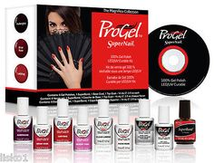 SuperNail ProGel Magnifico Collection Starter Kit 100% Gel Polish, LED/UV Kit