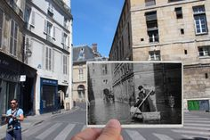 The 2016 Paris flood vs the 1910 'flood of the century' : Rue de Seine in the 6th arrondissement - The Local