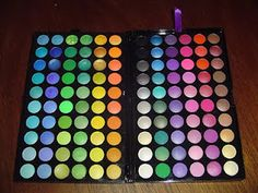 This is the pallette I use from BH Cosmetics. Love all the colors! So vibrant. If you want color, this is the way to go!