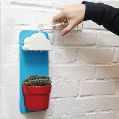 Arrosez vos plantes d'intérieur de manière naturelle // A natural way to  water your indoor plants