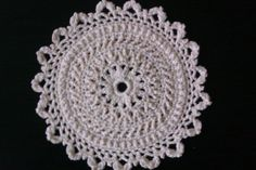 Doily design by Patricia Kristoffersen Doilies, Elf, Crochet Earrings, Crochet Hats, Handmade, Jewelry, Design, Knitting Hats, Hand Made