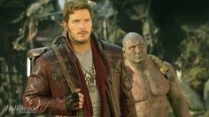 Chris Pratt & Dave Bautista's 'Guardians of the Galaxy' Screen Test Is Everything You Need
