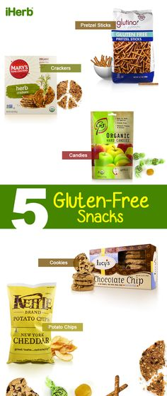 Gluten free grocery shopping is a breeze at iHerb with a variety of foods to choose from, even snacks!