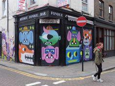 THE ART CAKE - Street Art by Malarky
