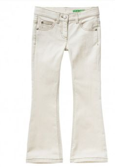 #Ganga #Branca: #White #mood on! #denim #WhiteDenim #calças #benetton