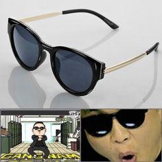 7b5e420954c5c 1 Pair Hot PSY Gangnam Style Custom Design UV400 Black Sunglasses Glasses  For Dancing Ball Party