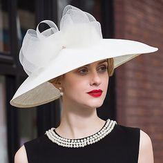 cappelli di pizzo di lino copricapo festa di nozze elegante stile femminile classico del 2017 a €48.69