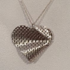 Sterling Silver 925 Heart Charm Pendant Necklace Jewelry not Scrap | eBay