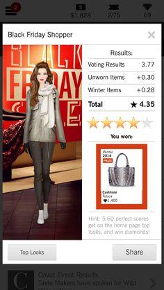 Covet Fashion Black Friday Shopper