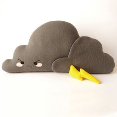 Cloud Stormy Plush - Soft toy and stuffed pillow.