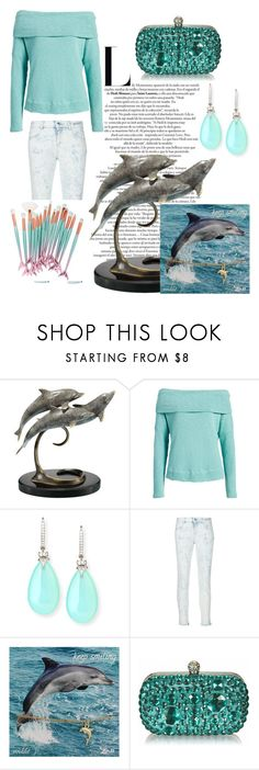 """Dolphin"" by terezkasvitilova ❤ liked on Polyvore featuring Caslon, Rina Limor, STELLA McCARTNEY, Zad, set, nonem and dolpin"