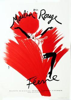 Gruau, Rene poster: Feerie - Bal du Moulin Rouge