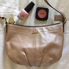 Coach Shimmery Crossbody Bag [Hpx2]
