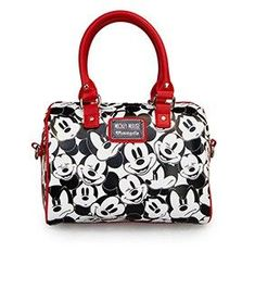 Loungefly x Mickey Mouse Poses All-Over Print Mini Backpack in 2019 ... 710a6038584da