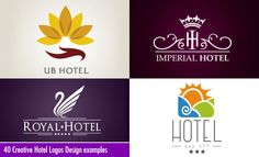 40 Creative Hotel Logos Design examples for your inspiration #design #logos #inspiration