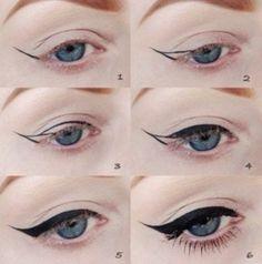 beautiful eyeliner pic toturial