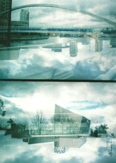 clouds reflections etc Manchester Art, University Degree, Salford, Save The Queen, Public Transport, Surrealism, Places Ive Been, Architecture Design, Photographers