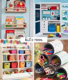Beautiful decor and organizing ideas for the kids room