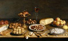 Jacob Foppens van Es - Banquet still life