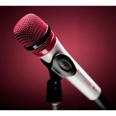 Colorware Les Microphones Sennheiser prennent de la couleur ❤ liked on Polyvore featuring microphones, music, instruments, micro e electronics