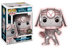 POP! Movies #490: Tron: SARK [METALLIC] (Glows In The Dark) - Chase Limited Edition