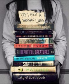i just like the note on the top... its so true to my life due to books