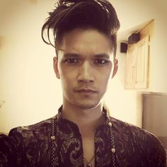 This hair wave is on swoll. Harry Shum Jr. as Magnus Bane