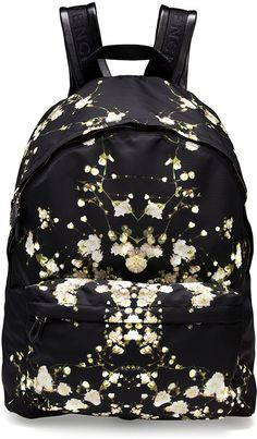 Givenchy Baby's Breath Printed Backpack on shopstyle.com