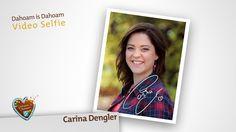 Video Selfie: Carina Dengler