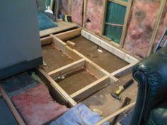 Mobile Home Remodeling on a Shoestring...: Rebuilding the floor