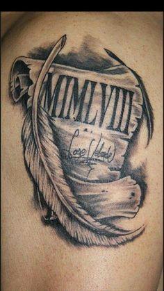 Resultado de imagen para tatuaje pergamino