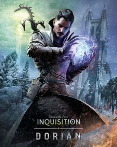 Here& a gallery of Dragon Age: Inquisition character artwork Dragon Age Inquisition Characters, Dragon Age Inquisition Dorian, Dragon Age Dorian, Dragon Age Characters, Fantasy Characters, Da Inquisition, Dragon Age Games, Dragon Age 2, Dragon Age Origins
