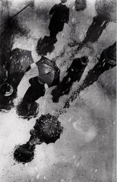 Károly Escher - Tender snow, 1928