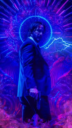 Animated Video GIF John Wick 3 : Animated Video GIF created by Sherilynn Gould John Wick Chapter 3 Keanu Reeves John Wick, Wallpaper Animes, Marvel Wallpaper, Joker Wallpapers, Live Wallpapers, John Wick Movie, John Wick 1, Marvel Animation, Animation Movies
