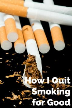 How I Quit Smoking for Good