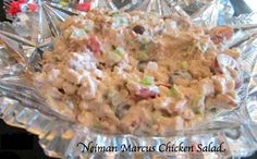 A delicious chicken salad with a low carb keto approved option!