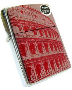 Zippo Lighter Roman Coliseum Zippo Collection, Zippo Lighter, Cigarette Case, Eve, Web Design, Gadgets, Branding, Packaging, Technology
